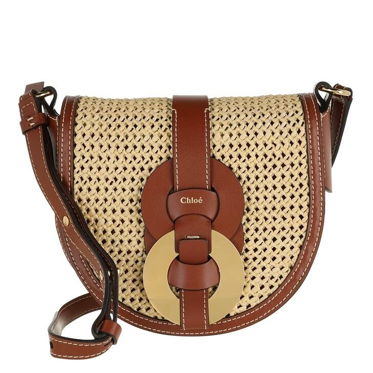 bags, Chloé, Handle Bag Leather Sepia Brown