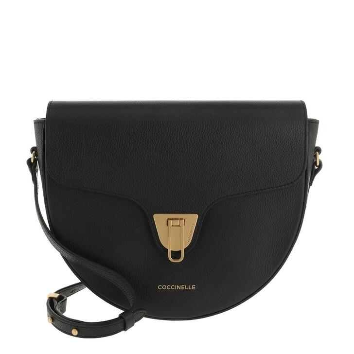 bags, Coccinelle, Beat Soft Crossbody Leather  Noir