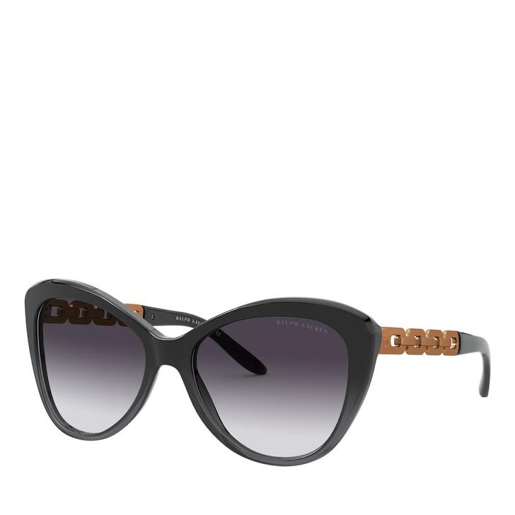 sunglasses, Ralph Lauren, 0RL8184 Shiny Black Gradient Grey