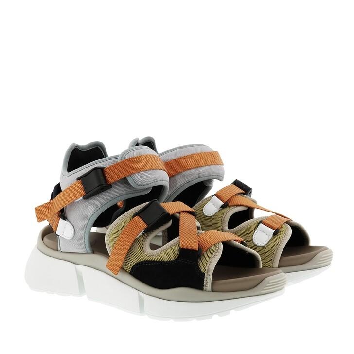 Schuh, Chloé, Sonnie Strap Sandals Autumn Leaf