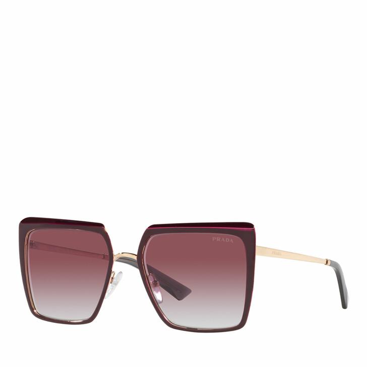Sonnenbrille, Prada, 0PR 58WS GARNET