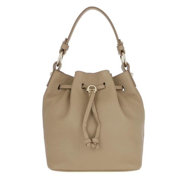 Handtasche, AIGNER, Tara Handle Bag Cashmere Beige
