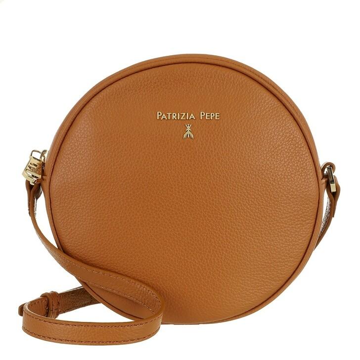 bags, Patrizia Pepe, Crossbody Bag Cuoio