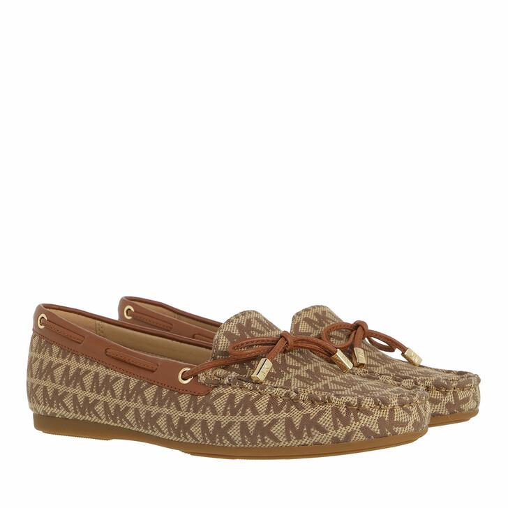shoes, MICHAEL Michael Kors, Sutton Moccasin Beige/Ebony