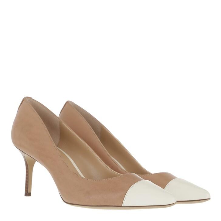 Schuh, Lauren Ralph Lauren, Lanette Cap2 Pumps Dress Nude/Vanilla