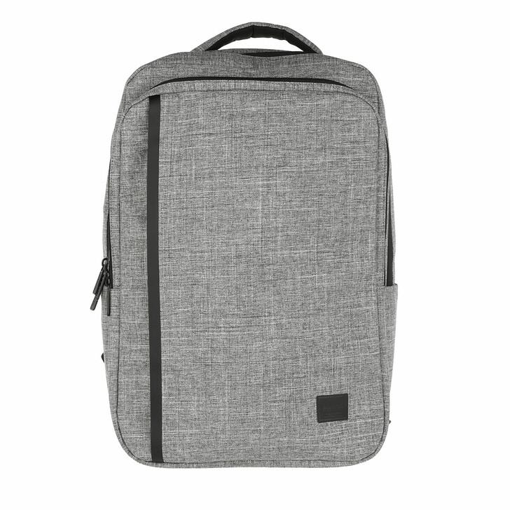 bags, Herschel, Travel Backpack Raven Crosshatch