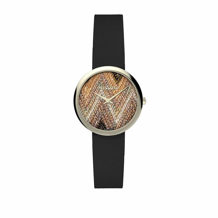 Uhr, Missoni, Watch M1 34 MM (Y2) Black/Gold