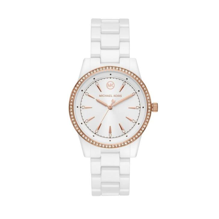 watches, Michael Kors, Ritz Watch White