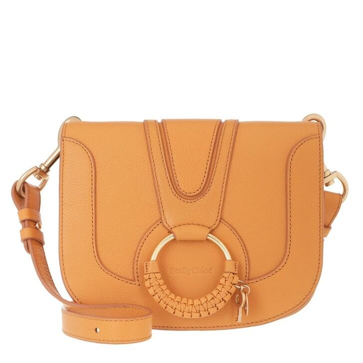 Handtasche, See By Chloé, Hana Medium Crossbody Bag Leather Soft Tan