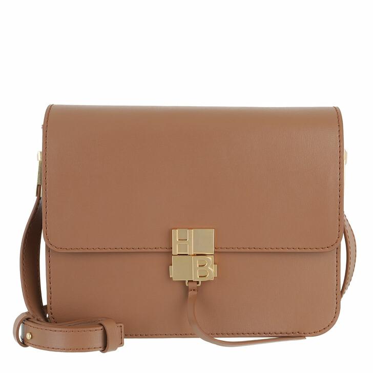 Handtasche, Boss, Ella Shoulder Bag Medium Brown