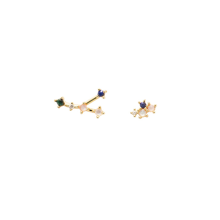 Ohrring, PDPAOLA, Earrings CANCER Yellow Gold