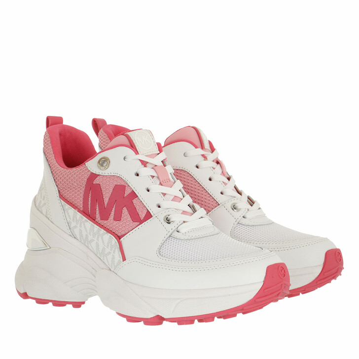 shoes, MICHAEL Michael Kors, Mickey Trainer Shell Pink