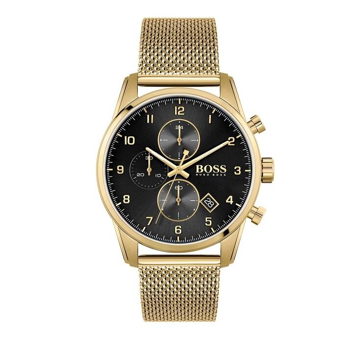 Uhr, Boss, Skymaster Watch Gold