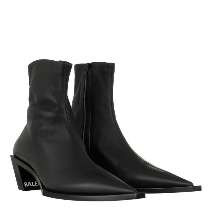 Schuh, Balenciaga, Tiaga Zip Up Boots Black
