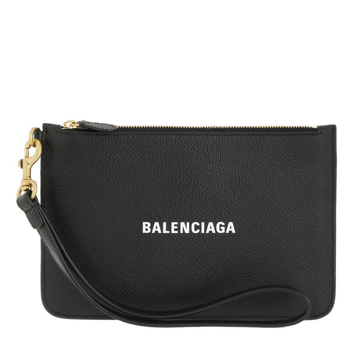 wallets, Balenciaga, Wallet Black White