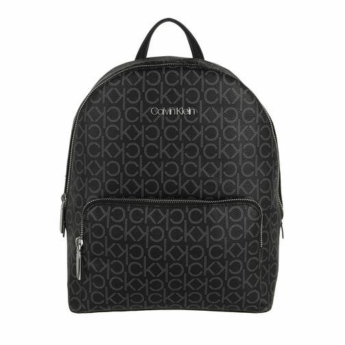 calvin klein -  Rucksack - CK Must Campus Backpack With Pckt Medium Mono - in schwarz - für Damen