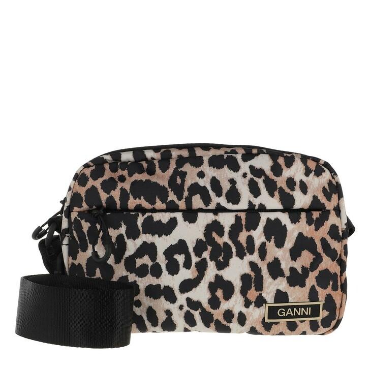 bags, GANNI, Festival Bag Leopard