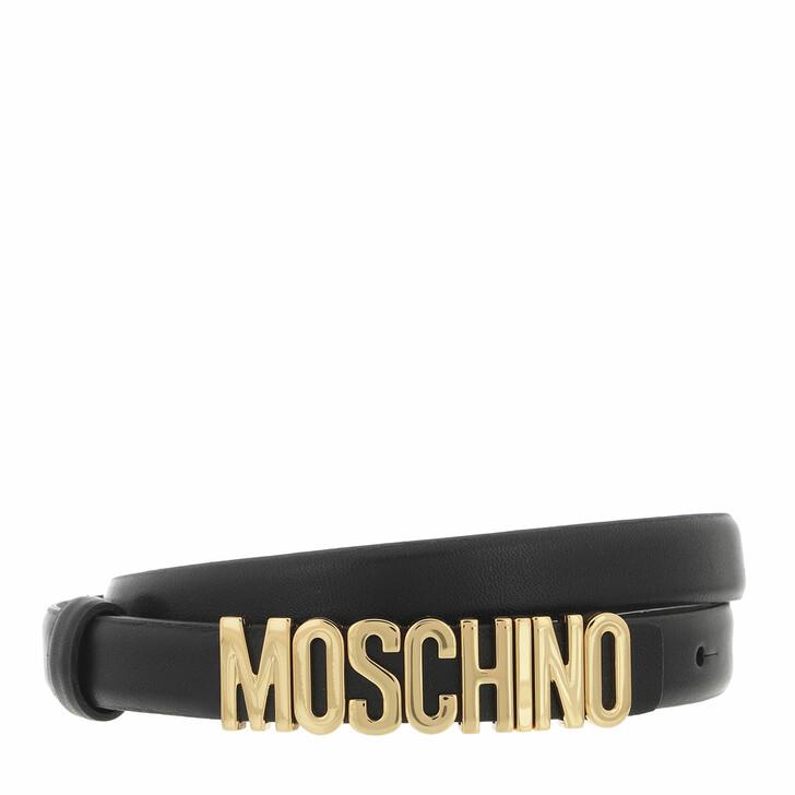 belts, Moschino, Cintura Nero