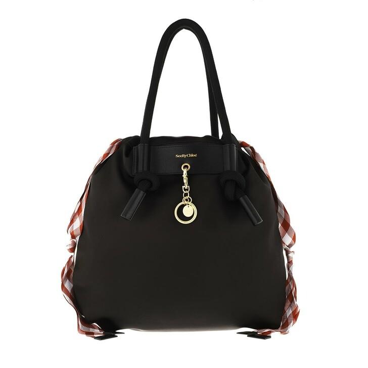 bags, See By Chloé, Beth Shopper Eternity Black