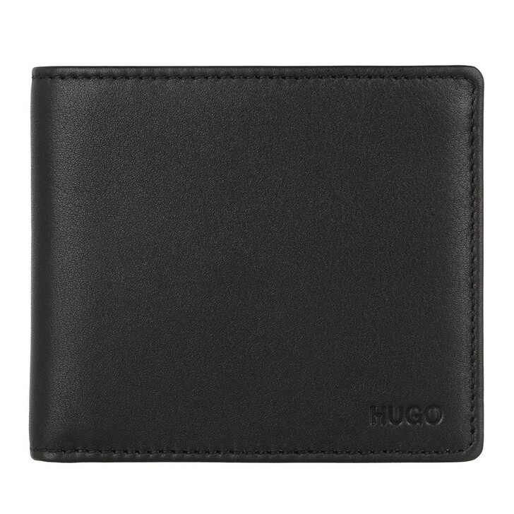 wallets, Hugo, Subway_4 cc coin Wallet Black