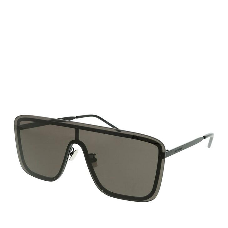 sunglasses, Saint Laurent, SL 364 MASK-002 99 Sunglass UNISEX METAL BLACK