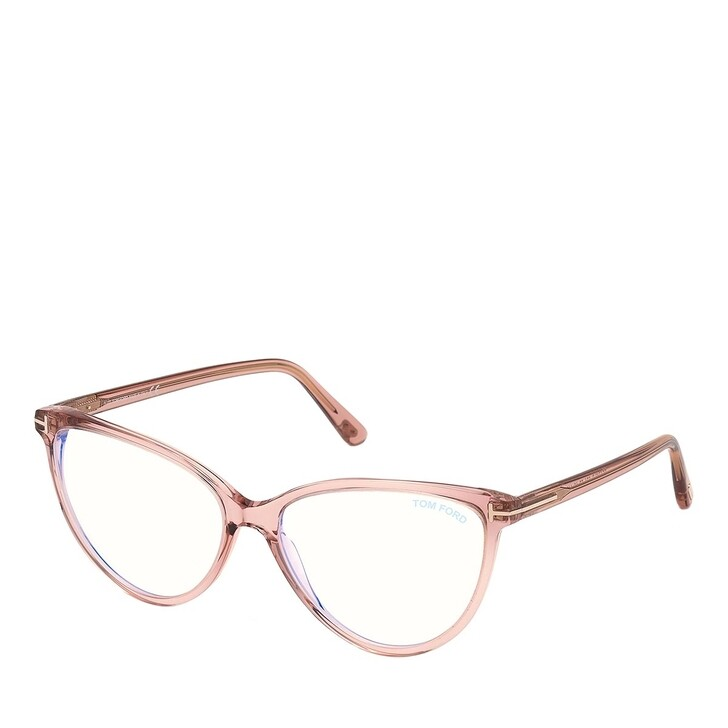 Brillen mit Gläsern, Tom Ford, Blue Blocker FT5743-B Rose