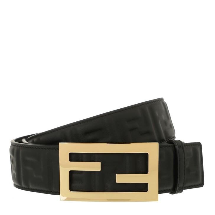 Gürtel, Fendi, Belt Black Oro
