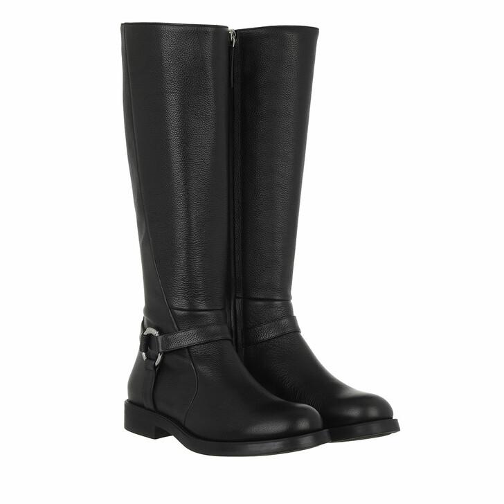 shoes, Hugo, Lexi Boot Black