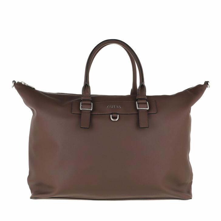 bags, Guess, Riviera Duffle Bag Brown