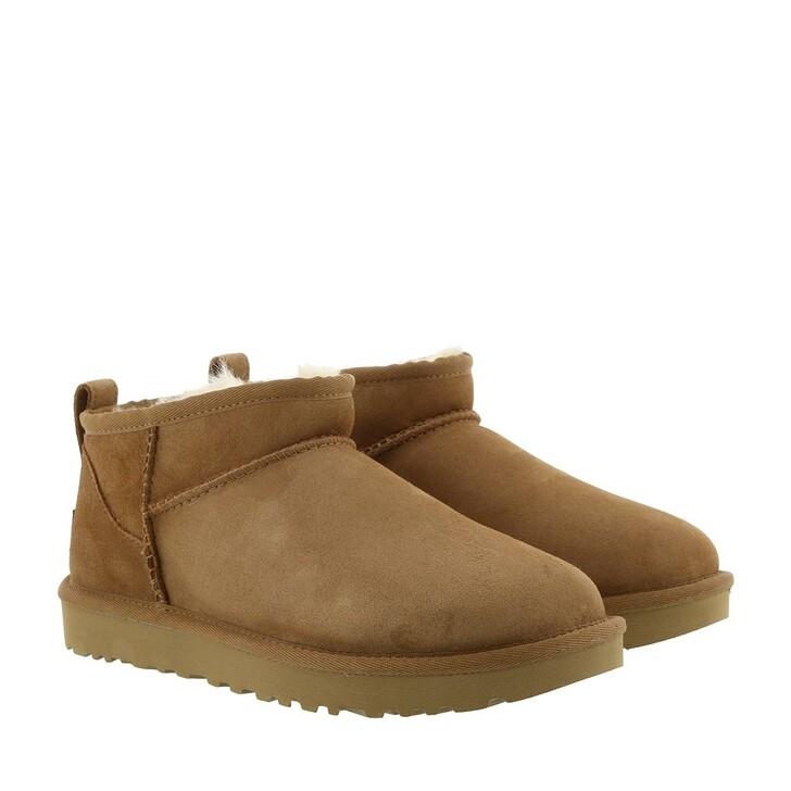 Schuh, UGG, Classic Ultra Mini Classic Boot Chestnut