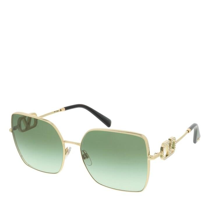 Sonnenbrille, Valentino, 0VA2041 30028E Woman Sunglasses Allure Gold