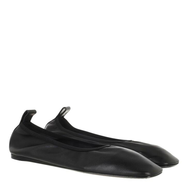 shoes, Closed, Lu Slipper Leather Black