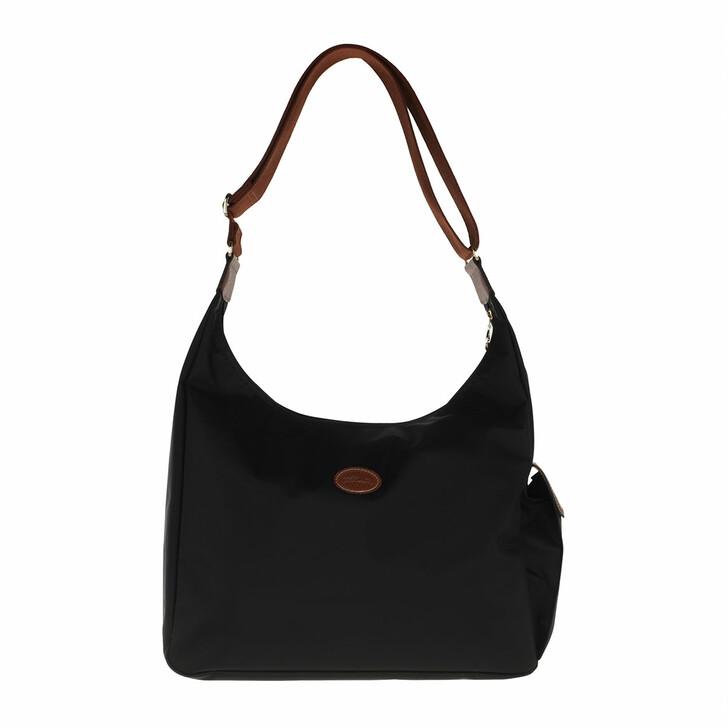 bags, Longchamp, Le Pliage Original Shoulder Bag  Black