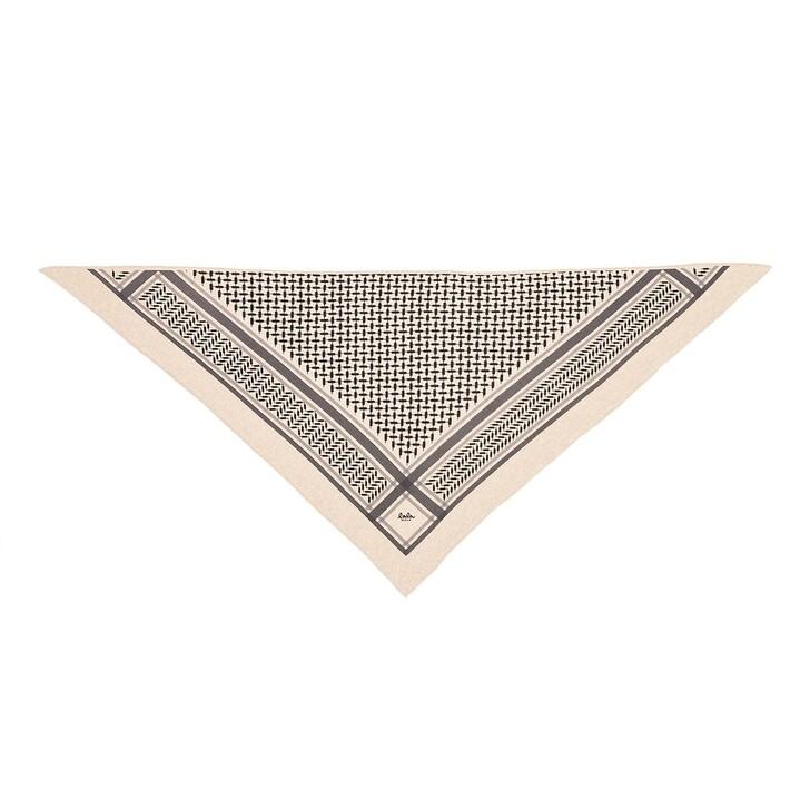 scarves, Lala Berlin, Triangle Trinity Classic M Dune/Beige