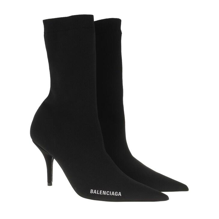 Schuh, Balenciaga, Knife Bootie Black/White