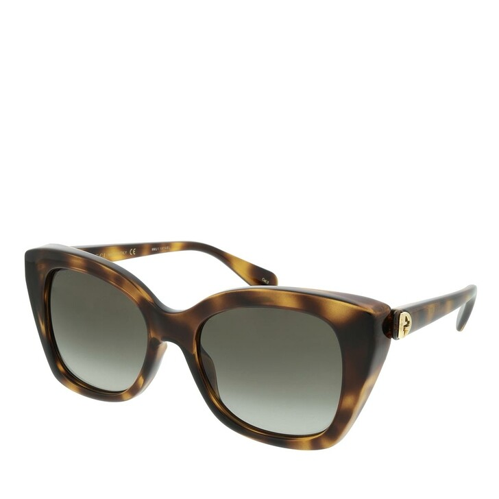 Sonnenbrille, Gucci, GG0921S-002 55 Sunglass WOMAN INJECTION HAVANA