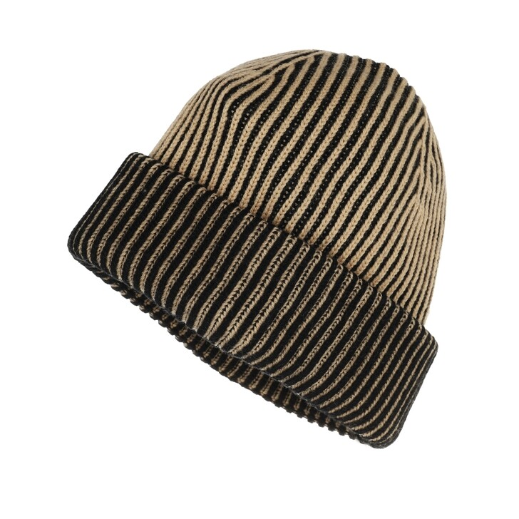 hats, Lala Berlin, Line Cap Camel Black