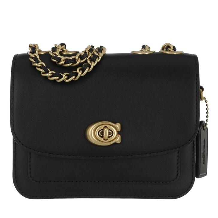 bags, Coach, Madison Shoulder Bag Black