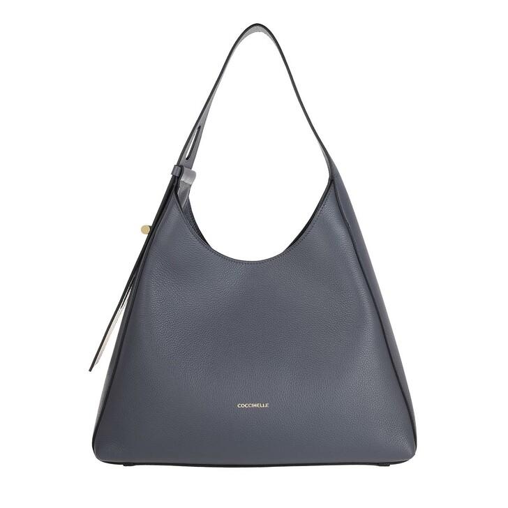 Handtasche, Coccinelle, Handbag Bottalatino Leather Ash Grey