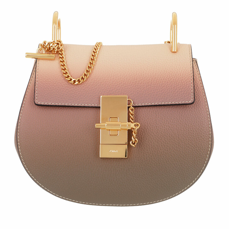 Handtasche, Chloé, Mini Drew Shoulder Bag Pink