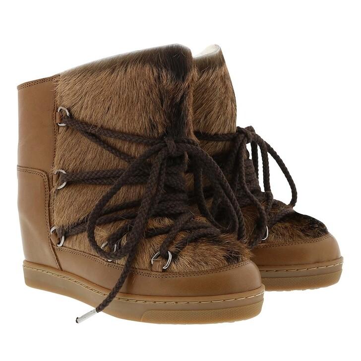 Schuh, Isabel Marant, Nowles Boots Cognac