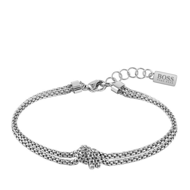 Armreif, Boss, Rosette Bracelet Silver