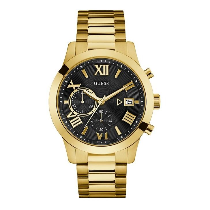 Uhr, Guess, Men Quartz Watch Atlas Gold