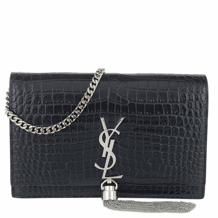 Handtasche, Saint Laurent, Monogramme Wallet On Chain Deep Marine