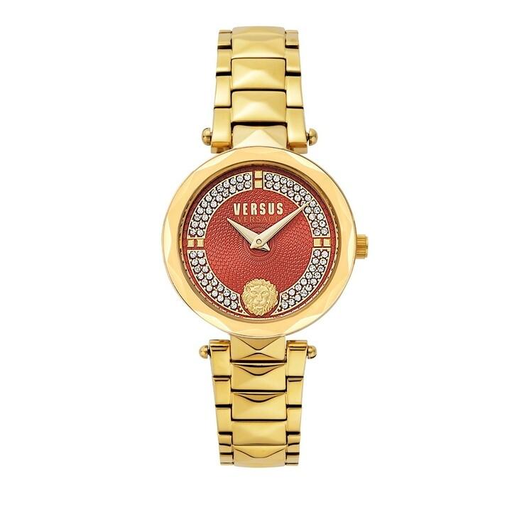 Uhr, Versus Versace, Covent Garden Peti Watch Yellow Gold