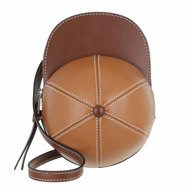Handtasche, J.W.Anderson, Midi Cap Crossbody Bag Chocolate/Pecan