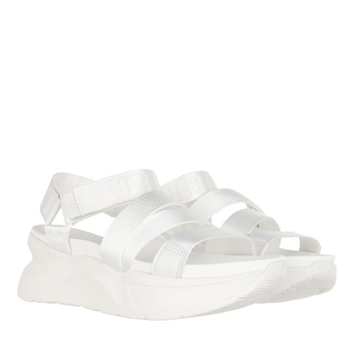 shoes, UGG, La Shores Sandal White