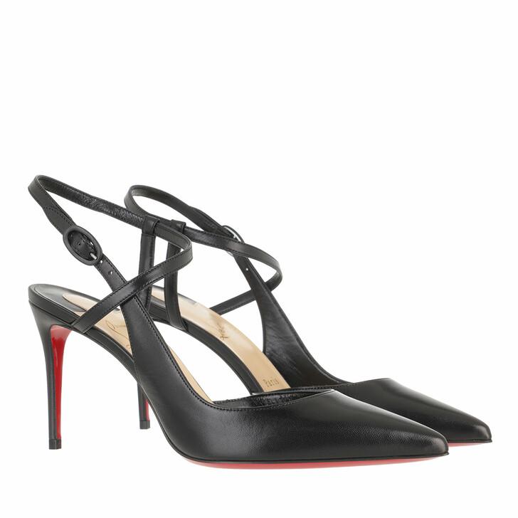 shoes, Christian Louboutin, Jenlove Pumps Leather Black