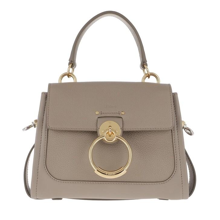 Handtasche, Chloé, Tess Mini Crossbody Bag Motty Grey