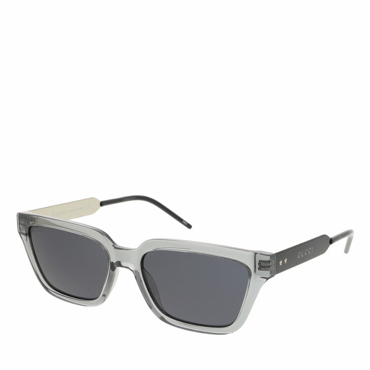 Sonnenbrille, Gucci, GG0975S-001 55 Sunglass MAN INJECTION GREY